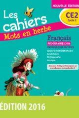 Les cahiers Mots en herbe Français