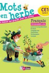 Mots en herbe français