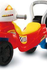 VTech – Trotti Moto 3 en 1 – Trotteur Porteur Moto Enfant pour Apprendre à Marcher / Jouet 12-36 mois – Version FR